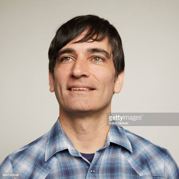 Director Michael Tully from the film 'Don't Leave Home' poses for a portrait in the Getty Images Portrait Studio Powered by Pizza Hut at the 2018...
