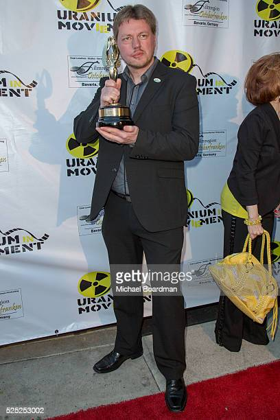 """Director Michael von Hohenberg attends """"The Man Who Saved The World"""" premiere during the Atomic Age Cinema Fest at Raleigh Studios on April 27, 2016..."""