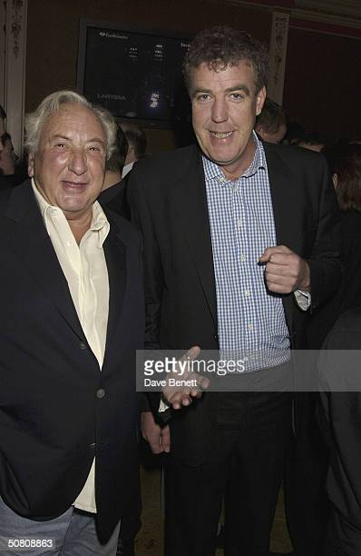 Director Michael Winner with TV presenter Jeremy Clarkson at a party thrown by Paul McKenna to celebrate his book 'Change Your Life In 7 Days'...