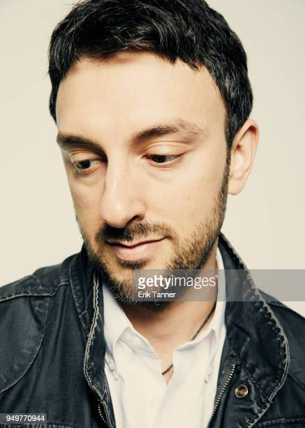 Director Michael Zimablist of the film Momentum Generation poses for a portrait during the 2018 Tribeca Film Festival at Spring Studio on April 21...