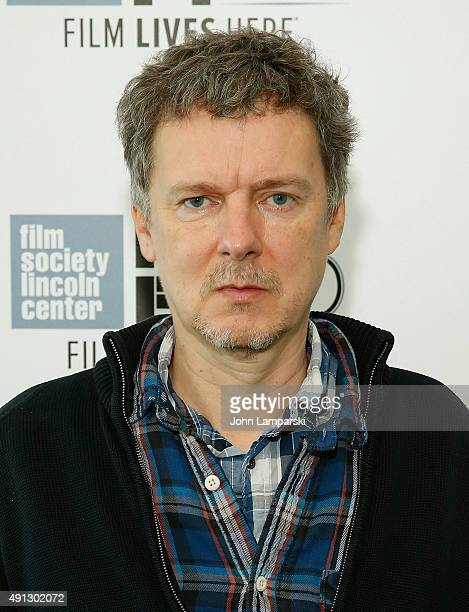 Director Michel Gondry attends 'Microbe Gasoline' during 53rd New York Film Festival at Alice Tully Hall Lincoln Center on October 4 2015 in New York...