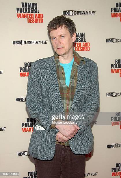 Director Michel Gondry attends the HBO Documentaries premiere Of Roman Polanski Wanted And Desired at The Paris Thatre in New York City on May 6 2008