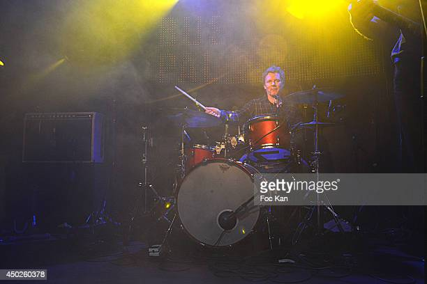 Director Michel Gondry performs during the 'Oui Oui' Concert Party' At The Bus Palladium on June 7 2014 in Paris France