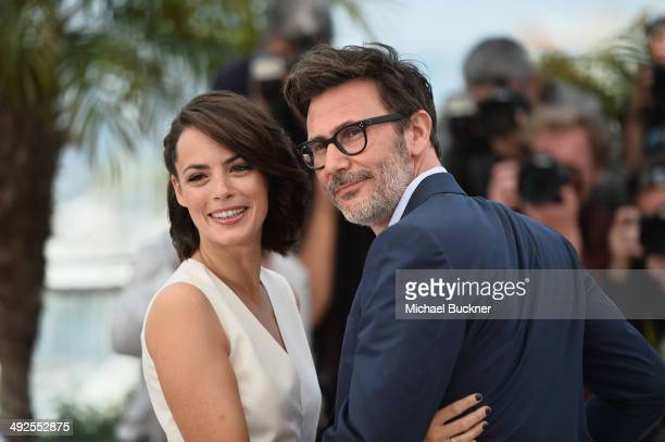 Director Michel Hazanavicius and actress Berenice Bejo attend 'The Search' photocall at the 67th Annual Cannes Film Festival on May 21 2014 in Cannes...
