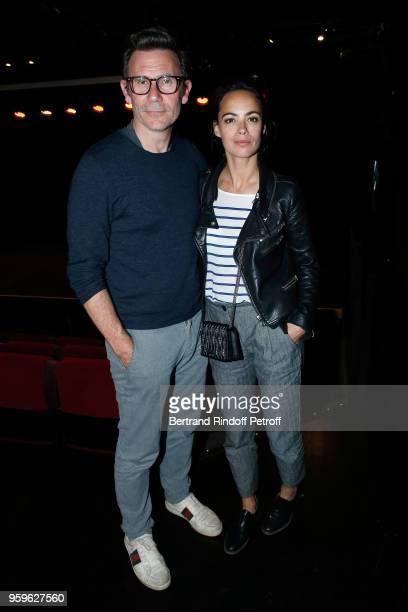 Director Michel Hazanavicius and actress Berenice Bejo attend the 'Un Poyo Rojo' Theater Play celebrates its 10th Anniversary at Theatre Antoine on...