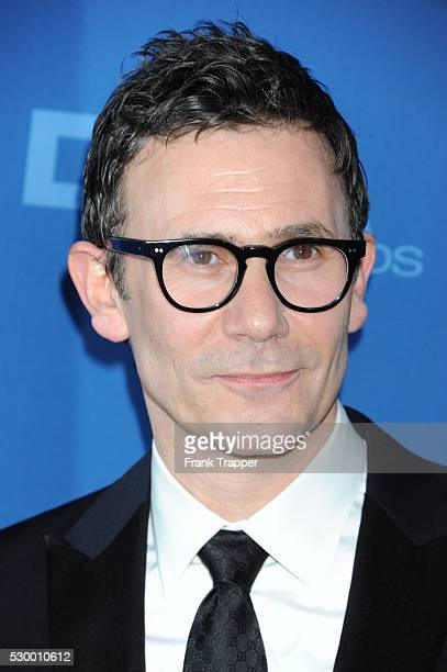 Director Michel Hazanavicius arrives at the 65th Annual Directors Guild Awards held at the Ray Dolby Ballroom at Hollywood Highland