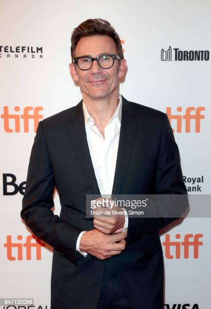 Director Michel Hazanavicius attends the 'Redoubtable' premiere during the 2017 Toronto International Film Festival at The Elgin on September 14 2017...