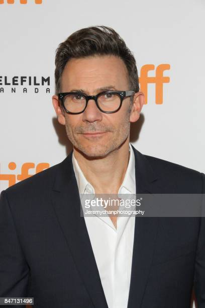 Director Michel Hazanavicius attends the 'Redoubtable' Premiere held at The Elgin during the 2017 Toronto International Film Festival on September 14...