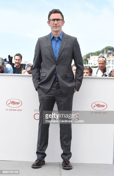 Director Michel Hazanavicius attends the 'Redoutable ' photocall during the 70th annual Cannes Film Festival at Palais des Festivals on May 21 2017...