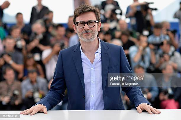 Director Michel Hazanavicius attends 'The Search' photocall at the 67th Annual Cannes Film Festival on May 21 2014 in Cannes France