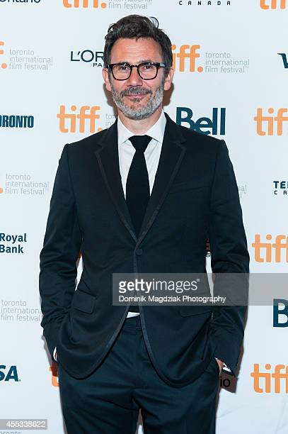 Director Michel Hazanavicius attends The Search premiere during the Toronto International Film Festival at The Elgin on September 12 2014 in Toronto...