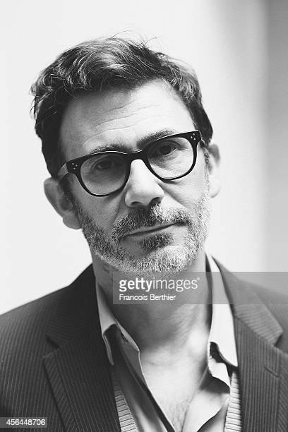 Director Michel Hazanavicius is photographed for Le Film Francais on April 30 2014 in Paris France