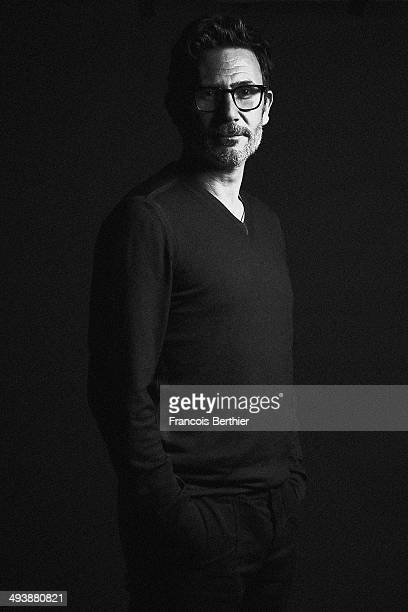Director Michel Hazanavicius is photographed for Self Assignment on May 22 2014 in Cannes France