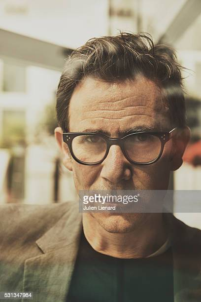 Director Michel Hazanavicius is photographed for Self Assignment on May 13 2016 in Cannes France