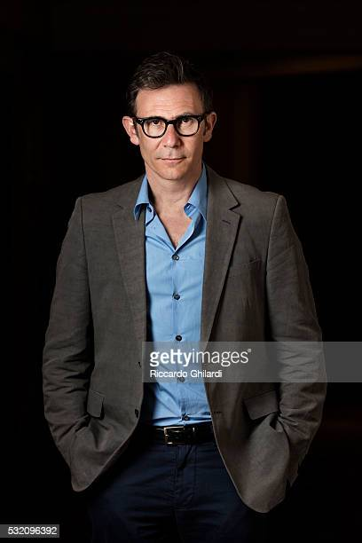 Director Michel Hazanavicius is photographed for Self Assignment on May 12 2016 in Cannes France