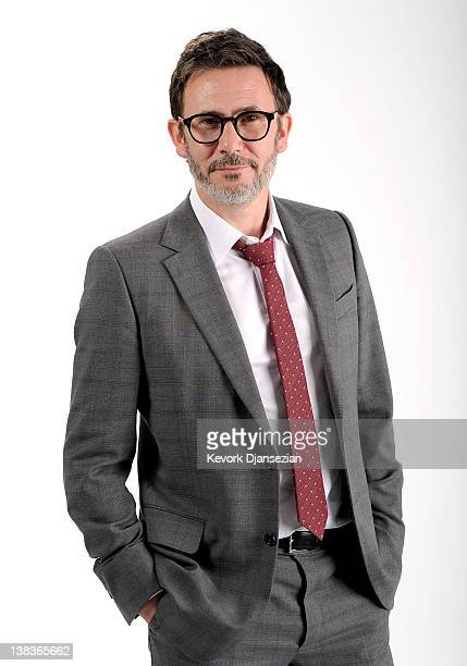 Director Michel Hazanavicius poses for a portrait during the 84th Academy Awards Nominations Luncheon at The Beverly Hilton hotel on February 6 2012...