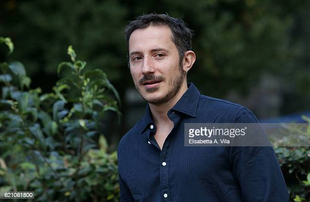 Director Michele Alhaique attends a photocall for 'Solo' tv serie at Villa Borghese on November 4 2016 in Rome Italy