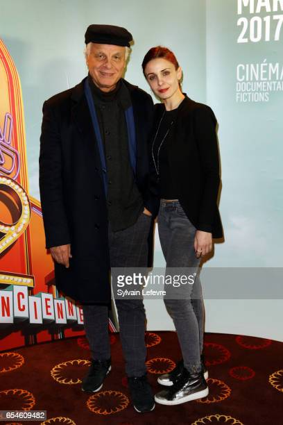 Director Michele Placido and his wife Federica Vincenti attend day five photocall of Valenciennes Cinema Festival on March 17 2017 in Valenciennes...