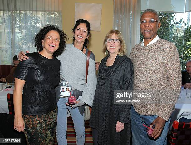 Director Michele Stephenson, producer Ronnie Planalp, Marian Masone of the Film Society of Lincoln Center and producer Joe Brewster attend the...