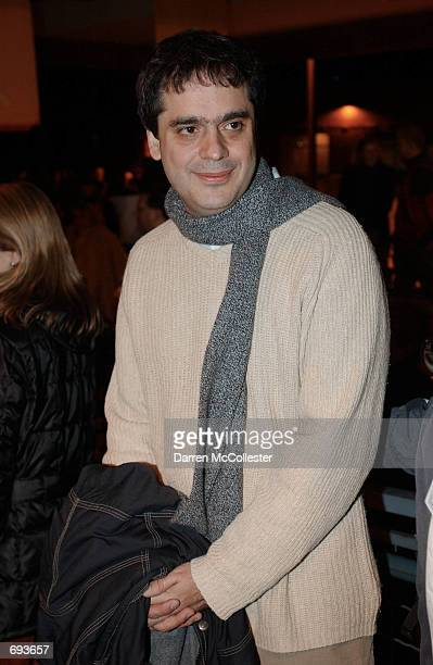 Director Miguel Arteta attends the premiere of his movie The Good Girl January 12 2002 at the Sundance Film Festival in Park City UT