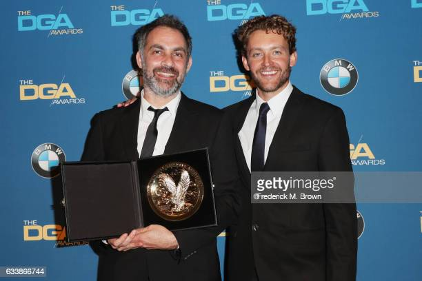 Director Miguel Sapochnik winner of the Outstanding Directorial Achievement in Dramatic Series for the 'Game of Thrones' episode 'The Battle of the...