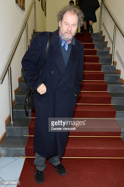 Director Mike Figgis attends Day 2 of the 2012 Capri Hollywood Film Festival on December 27 2012 in Capri Italy