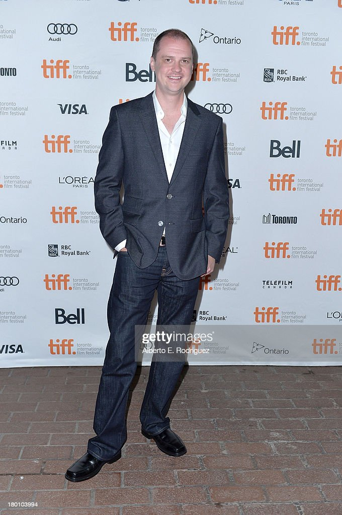 Director Mike Flanagan attends the 'Oculus' premiere during the 2013 Toronto International Film Festival at Ryerson Theatre on September 8, 2013 in Toronto, Canada.