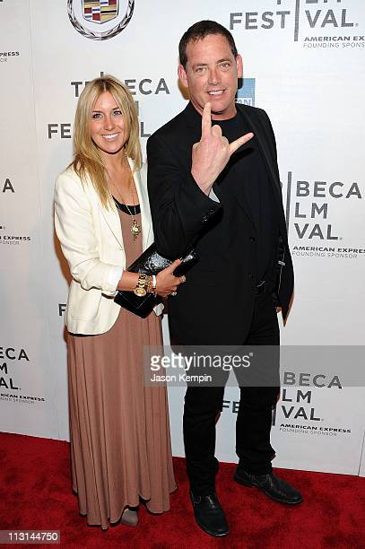Director Mike Fleiss and guest attend the premiere of God Bless Ozzy Osbourne during the 2011 Tribeca Film Festival at BMCC Tribeca PAC on April 24...