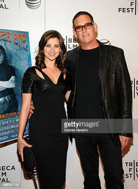 Director Mike Fleiss and his wife Miss America 2012 Laura Kaeppeler attend the screening of The Other One The Long Strange Trip of Bob Weir during...
