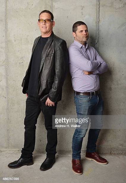 Director Mike Fleiss and producer Marc Weingarten from The Other One The Long Strange Trip of Bob Weir pose for the Tribeca Film Festival Getty...