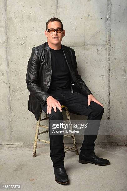 Director Mike Fleiss from The Other One The Long Strange Trip of Bob Weir poses for the Tribeca Film Festival Getty Images Studio on April 23 2014 in...