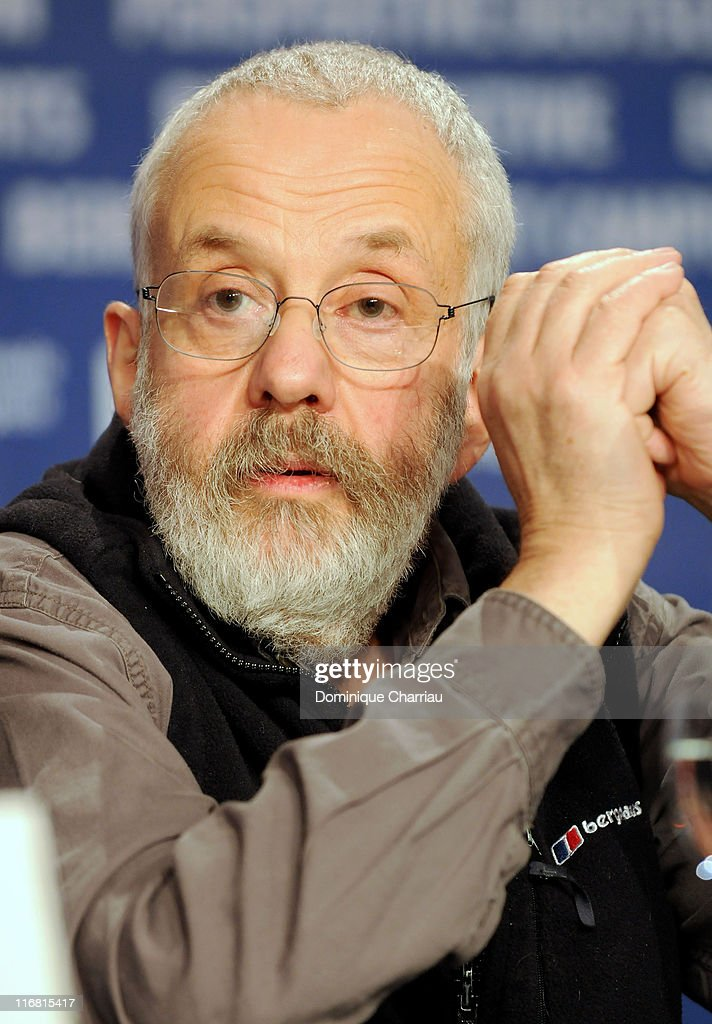Director Mike Leigh attends the 'Happy-Go-Lucky' Photocall as part of the 58th Berlinale Film Festival at the Grand Hyatt Hotel on February 12, 2008 in Berlin, Germany.