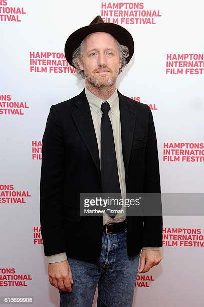 Director Mike Mills attends the red carpet of 20th Century Women screening during the Hamptons International Film Festival 2016 at Guild Hall on...