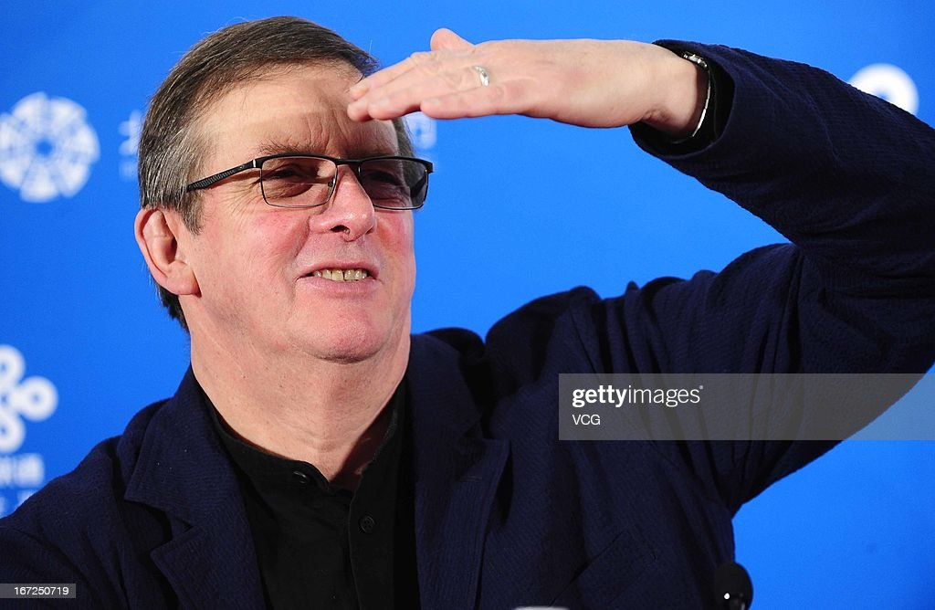 Director Mike Newell attends 'Great Expectations' press conference during the 3rd Beijing International Film Festival at China National Convention Center on April 23, 2013 in Beijing, China.