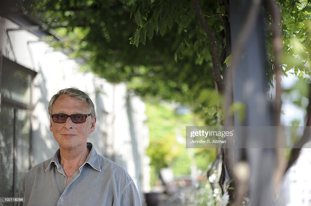 Director Mike Nichols is photographed for the Los Angeles Times.