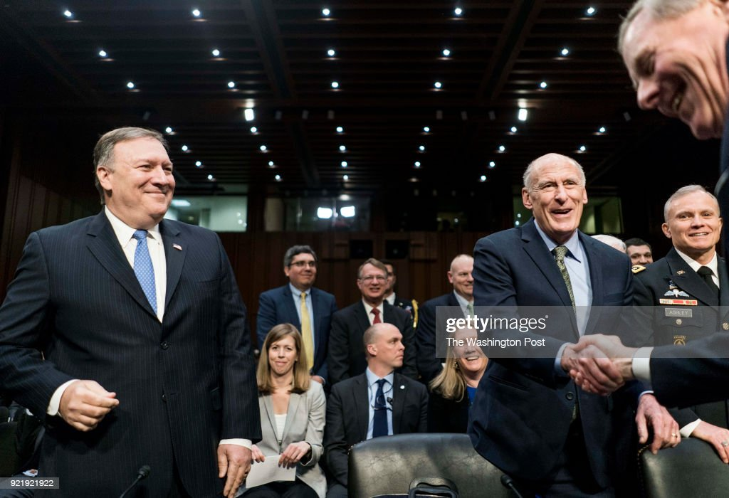 Senate Intelligence Committee : News Photo