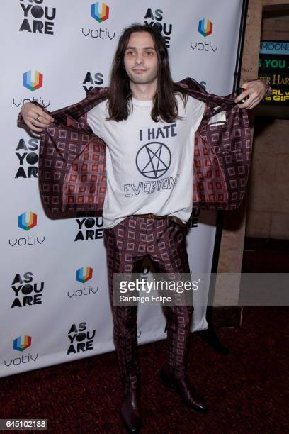 """Director Miles Joris-Peyrafitte attends """"As You Are"""" New York Premiere at Village East Cinema on February 24, 2017 in New York City."""