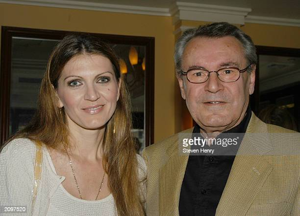 Director Milos Forman and his wife Martina attend the 19th Annual Israel Film Festival June 19 2003 in New York City