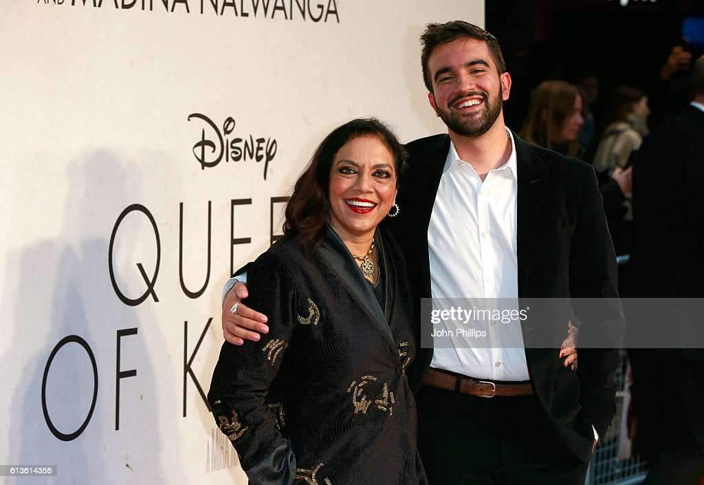 Director Mira Nair attends the 'Queen Of Katwe' Virgin Atlantic Gala screening during the 60th BFI London Film Festival at Odeon Leicester Square on October 9, 2016 in London, England.
