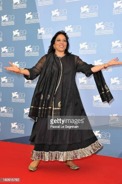 Director Mira Nair attends The Reluctant Fundamentalist Photocall during the 69th Venice International Film Festival at Palazzo del Casino on August...