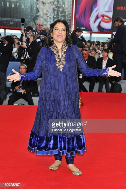 Director Mira Nair attends The Reluctant Fundamentalist Premiere And Opening Ceremony during the 69th Venice International Film Festival at Palazzo...