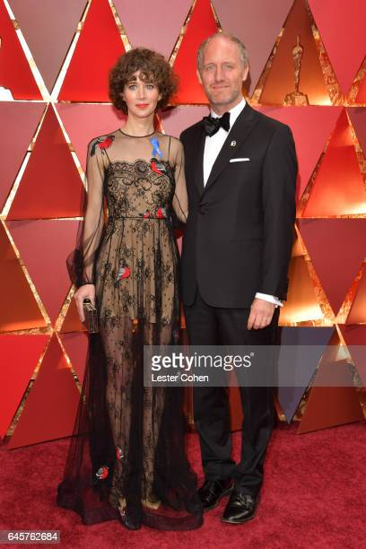 Director Miranda July and Producer Mike Mills attend the 89th Annual Academy Awards at Hollywood Highland Center on February 26 2017 in Hollywood...