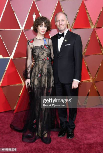 Director Miranda Julyand Produer Mike Mills attend the 89th Annual Academy Awards at Hollywood Highland Center on February 26 2017 in Hollywood...