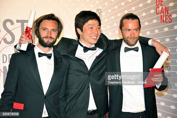 Director Moon Byunggon attends the 'Palme D'Or Winners dinner' during the 66th Cannes International Film Festival