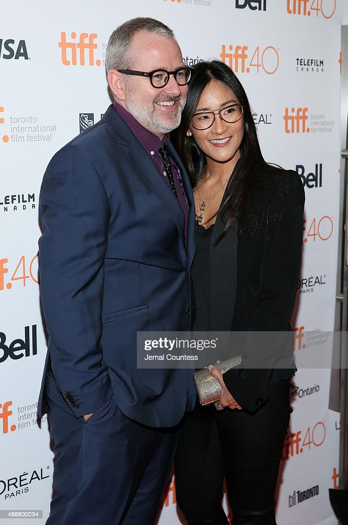 Director Morgan Neville (L) and Executive Producer Lisa Nishimura attend the 'Keith Richards: Under The Influence' premiere during the 2015 Toronto International Film Festival at Princess of Wales Theatre on September 17, 2015 in Toronto, Canada.