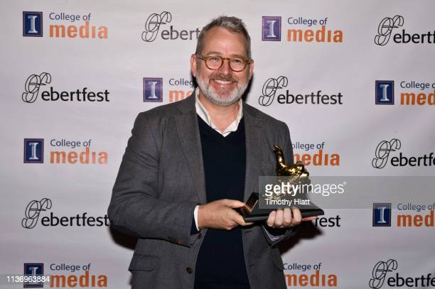 Director Morgan Neville attends day four of Ebertfest on April 13 2019 in Champaign Illinois