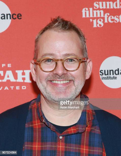 Director Morgan Neville attends the 'Wont You Be My Neighbor' Premiere during 2018 Sundance Film Festival at Rose Wagner Performing Arts Center on...
