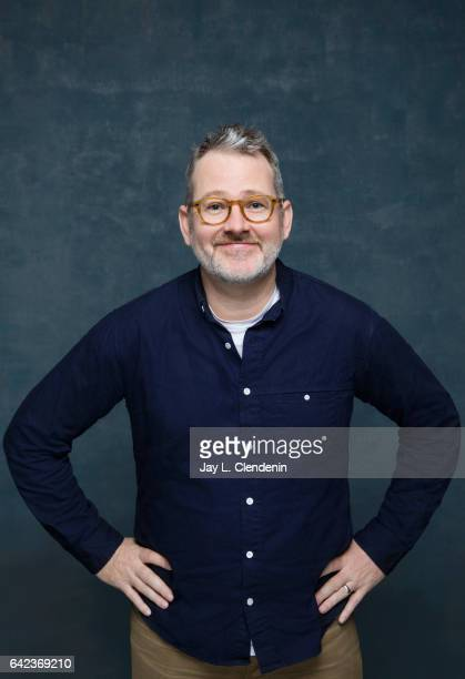 Director Morgan Neville from the television series Abstract Art of Design is photographed at the 2017 Sundance Film Festival for Los Angeles Times on...