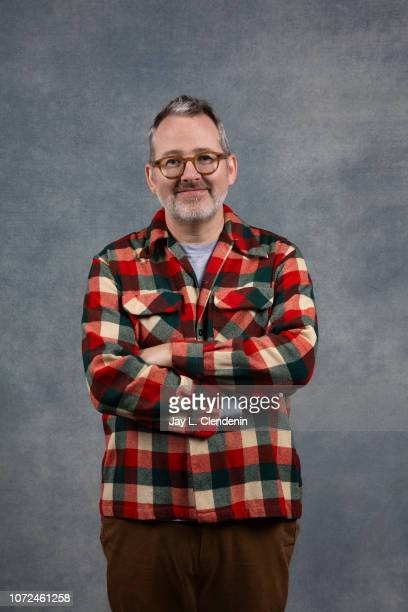 Director Morgan Neville from Won't You Be My Neighbor is photographed for Los Angeles Times on January 21 2018 in the LA Times Studio at Chase...