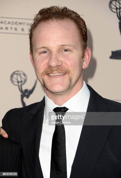 Director Morgan Spurlock attends the 2nd annual Television Academy Honors at the Beverly Hills Hotel on April 30 2009 in Beverly Hills California